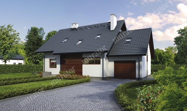 Projekt domu:  Murator C274   – Dom na przedmieściu